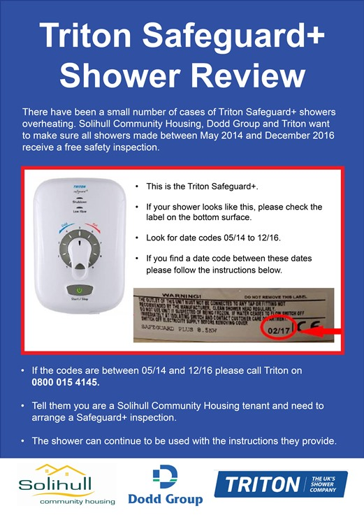 Do you have a Triton shower? Please read this...