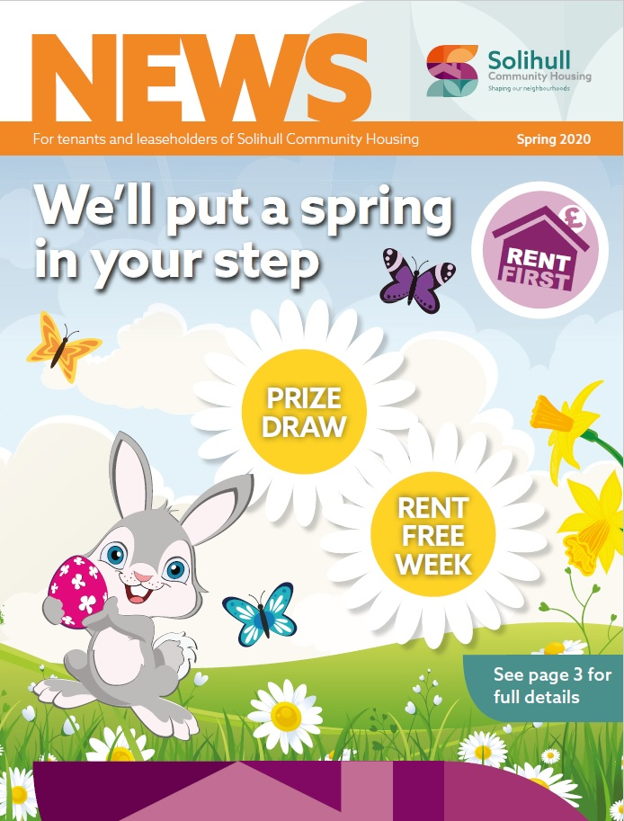 Take a look at your Spring Newsletter